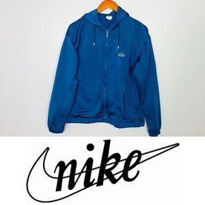 Nike Womens Vintage Full Zip Hooded Jacket Sz M